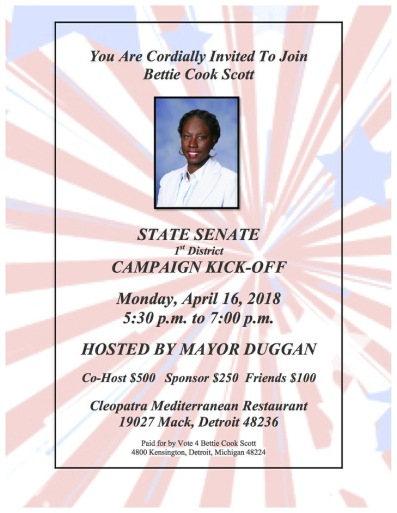 Campaign Kick-off flyer.